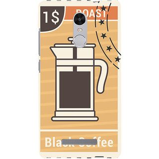 ifasho Coffee jug painting Back Case Cover for REDMI Note 3