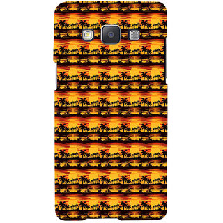 ifasho Modern Design animated Pattern small 3Dees in lines Back Case Cover for Samsung Galaxy A7