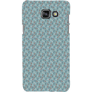 ifasho Modern Art Design Pattern with Lot Of small anchor Back Case Cover for Samsung Galaxy A7 A710 (2016 Edition)