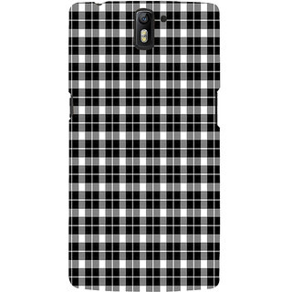 ifasho Modern Art Design animated cloth Pattern of small star Back Case Cover for One Plus One