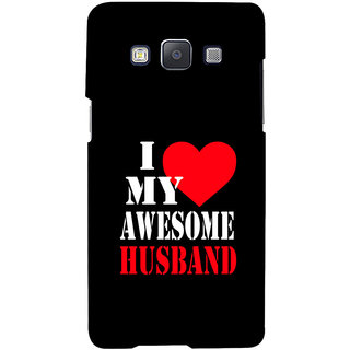 ifasho I love my husband quotes Back Case Cover for Samsung Galaxy A7