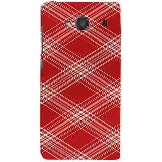 ifasho Design lines pattern Back Case Cover for Redmi 2S