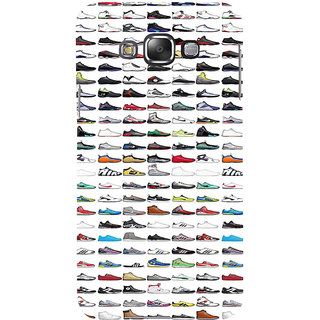 ifasho Animated Design  Many shoes Back Case Cover for Samsung Galaxy E7