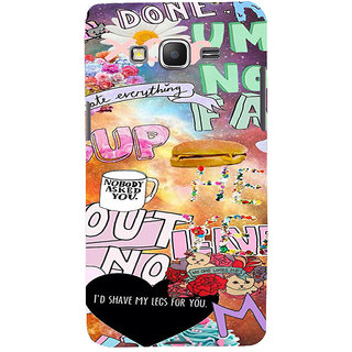 ifasho animated Modern Art Design Pattern dog love food quotes Back Case Cover for Samsung Galaxy Grand Prime