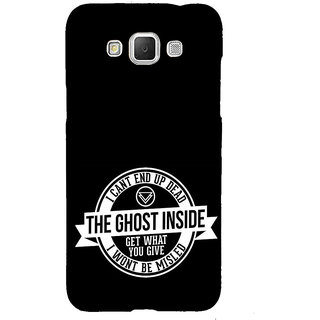 ifasho Think Out of Box Back Case Cover for Samsung Galaxy Grand3
