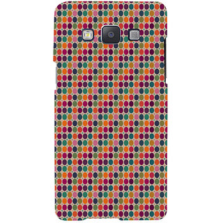 ifasho Animated Pattern  littel and Big colourful Circle Back Case Cover for Samsung Galaxy A7