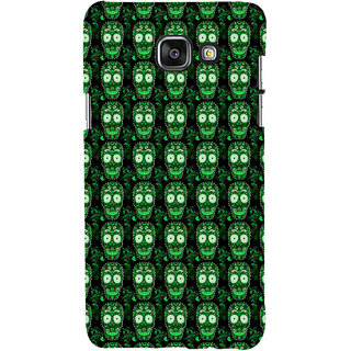 ifasho Modern  Design animated skeleton Pattern Back Case Cover for Samsung Galaxy A7 A710 (2016 Edition)