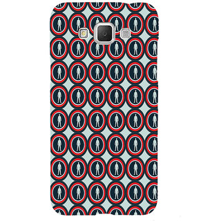 ifasho Animation Clourful Circle Pattern with man inside Back Case Cover for Samsung Galaxy Grand3
