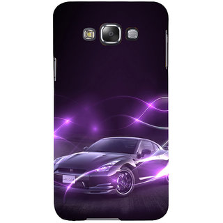 ifasho Purple car Back Case Cover for Samsung Galaxy E7