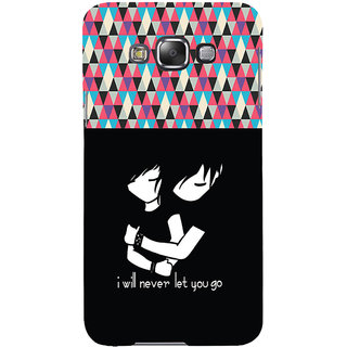 ifasho Love Quotes for love Back Case Cover for Samsung Galaxy E7