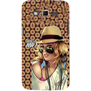 ifasho Look at me Girl Back Case Cover for Samsung Galaxy Grand