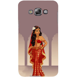 ifasho Draupadi Mahabharat Back Case Cover for Samsung Galaxy E7