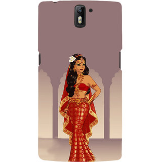 ifasho Draupadi Mahabharat Back Case Cover for One Plus One