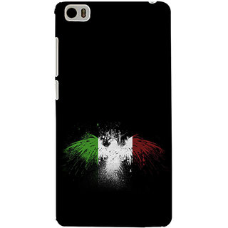 ifasho 3Di Colour bird Back Case Cover for Redmi Mi5
