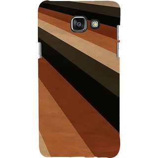 ifasho Design lines of different colours pattern Back Case Cover for Samsung Galaxy A5 A510 (2016 Edition)