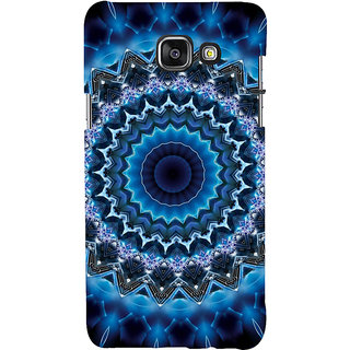 ifasho Animated Pattern design colorful flower in royal style Back Case Cover for Samsung Galaxy A5 A510 (2016 Edition)