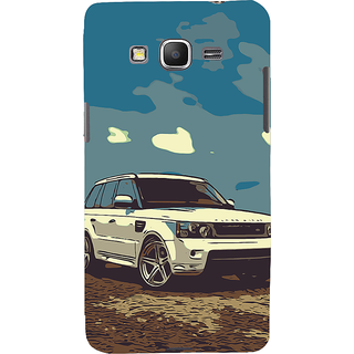 ifasho Vintage white Car Back Case Cover for Samsung Galaxy Grand Prime