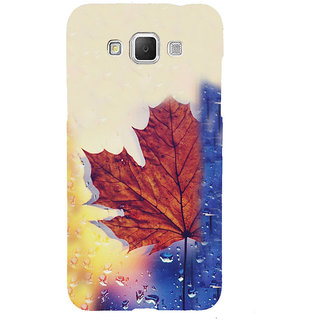 ifasho water Drop on brown leaf Back Case Cover for Samsung Galaxy Grand3