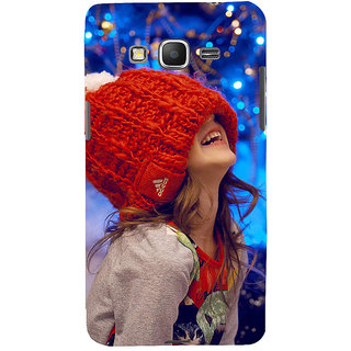 ifasho Little girl laughing Back Case Cover for Samsung Galaxy Grand Prime