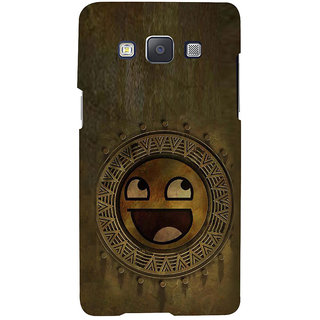 ifasho Smilee on wood Back Case Cover for Samsung Galaxy A7