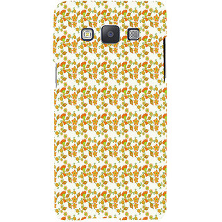 ifasho Modern Art Design animated cloth Pattern of flower Back Case Cover for Samsung Galaxy A7