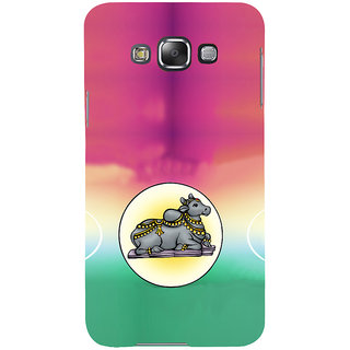 ifasho Nandi lord siva Back Case Cover for Samsung Galaxy E7