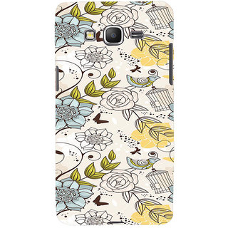 ifasho Animated Pattern colrful design flower and cage and birds Back Case Cover for Samsung Galaxy Grand Prime