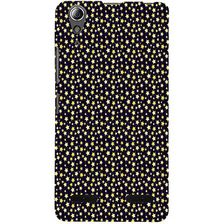 ifasho Animated Pattern colourful littel stars Back Case Cover for Lenovo A6000