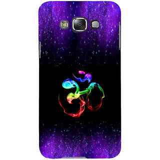 ifasho Om animated design Back Case Cover for Samsung Galaxy E7