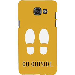 ifasho life Quotes go outside Back Case Cover for Samsung Galaxy A7 A710 (2016 Edition)