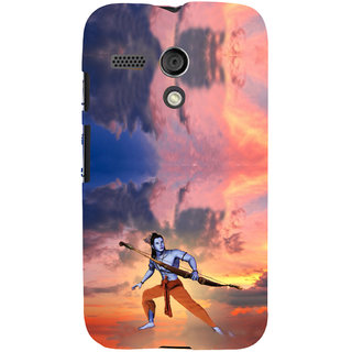 ifasho Lord Rama Back Case Cover for Moto G