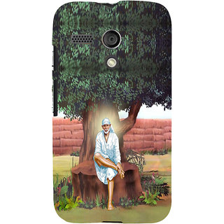 ifasho Shirdi wale Sai Baba Back Case Cover for Moto G