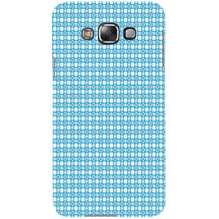 ifasho Modern Art Design animated cloth Pattern Back Case Cover for Samsung Galaxy E7