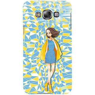 ifasho Skinny girl Back Case Cover for Samsung Galaxy E7