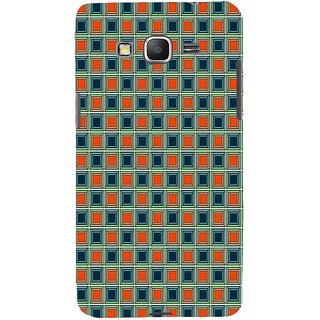 ifasho Colour Full Square Pattern Back Case Cover for Samsung Galaxy Grand Prime