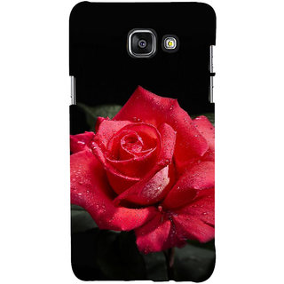ifasho Red Rose Back Case Cover for Samsung Galaxy A5 A510 (2016 Edition)