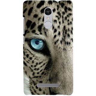 ifasho beautiful Tiger eyes Back Case Cover for REDMI Note 3