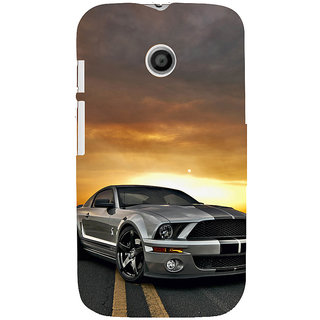 ifasho Wow car Back Case Cover for MOTO E