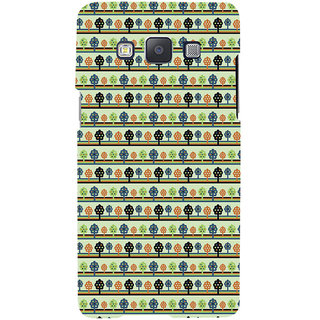 ifasho Animated Pattern colrful 3Dibal design with small 3Dees  Back Case Cover for Samsung Galaxy A7