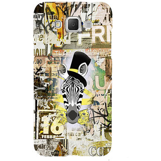 ifasho Animated Pattern of zebra Print Back Case Cover for Samsung Galaxy Grand3