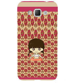 ifasho Cute Girl animated Back Case Cover for Samsung Galaxy Grand3