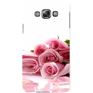 ifasho Red Rose bunch Back Case Cover for Samsung Galaxy E7
