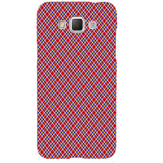 ifasho Colour Full Square Pattern Back Case Cover for Samsung Galaxy Grand3