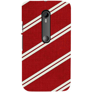 ifasho Design lines pattern Back Case Cover for Moto X Force