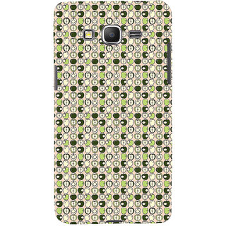 ifasho Animated Pattern design many small apple full and half Back Case Cover for Samsung Galaxy Grand Prime