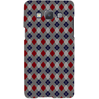 ifasho Animated Pattern design colorful in royal style Back Case Cover for Samsung Galaxy A7