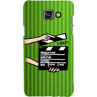 ifasho movie shoots action Back Case Cover for Samsung Galaxy A7 A710 (2016 Edition)