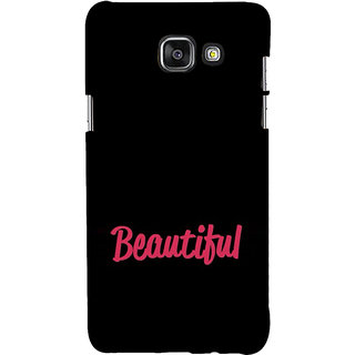 ifasho Bautiful word Back Case Cover for Samsung Galaxy A7 A710 (2016 Edition)