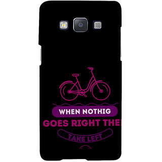 ifasho Right and Wrong Quote Back Case Cover for Samsung Galaxy A7