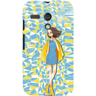 ifasho Skinny girl Back Case Cover for Moto G